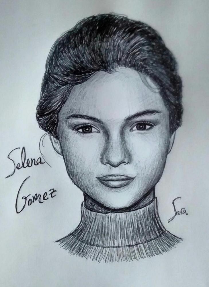 Selena Gomez por saray